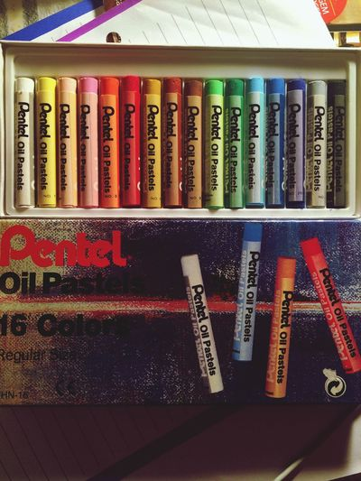 Gift Check This Out Pentel Cryon