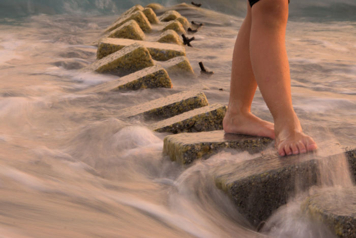 Barefoot Ocean On The Ocean Outdoors Turkey Water Waves, Ocean, Nature Live For The Story