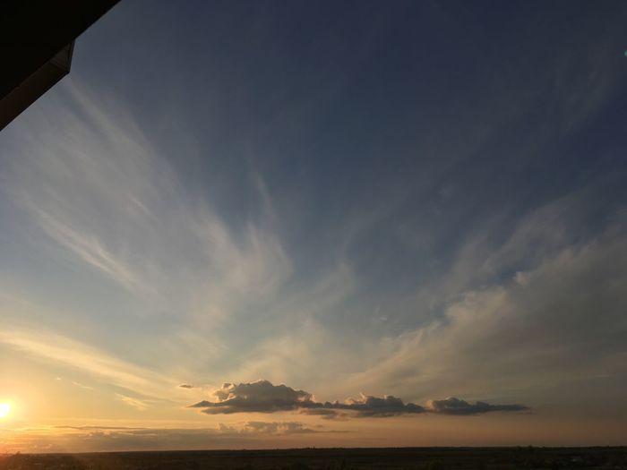 Sun Clouds Sky Sunset