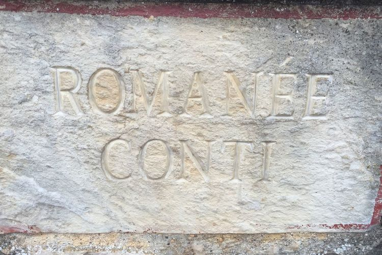 ROMANEE CONTI Domaine de la Romanée Conti