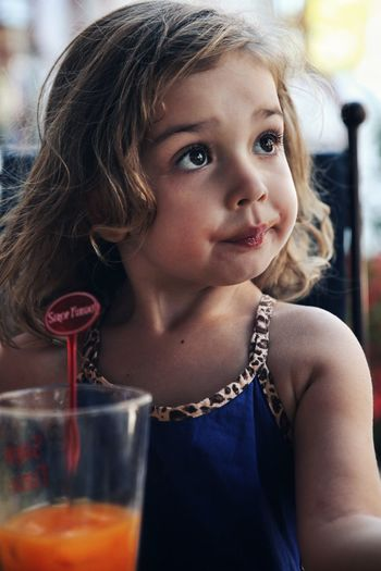 Can't resist an apricot juice !! Portrait Photography Children Photography Children Only Elementary Age Child One Girl Only Vacations Summer Outdoors Fruit Juice Apricot Juice Jus De Fruit Jus D'abricot This Is Family