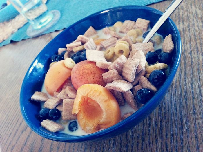 Breakfast 😋 Fruit Food And Drink Indoors  No People Food Close-up Healthy Eating Freshness Ready-to-eat Day Cerials Cerial Breakfast Breakfast Time Food Stories