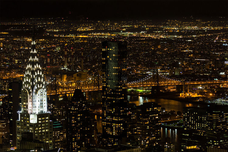 Urban skyline A Bird's Eye View Aerial View Architecture City Cityscape Crowded Financial District  Illuminated Manhattan Modern New York City Night Office Building Skyscraper Tower Urban Skyline