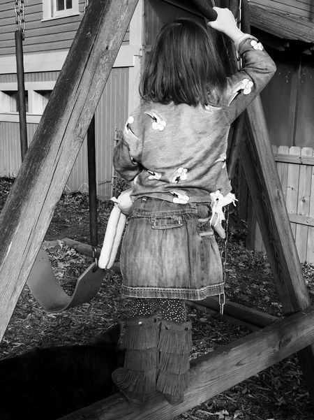 The Week On EyeEm Be Your Own Kind Of Beautiful Cowgirl Western Dress Childhood One Girl Only Rear View One Person Real People Standing Girls Day Outdoors People Adult Be You One Girl