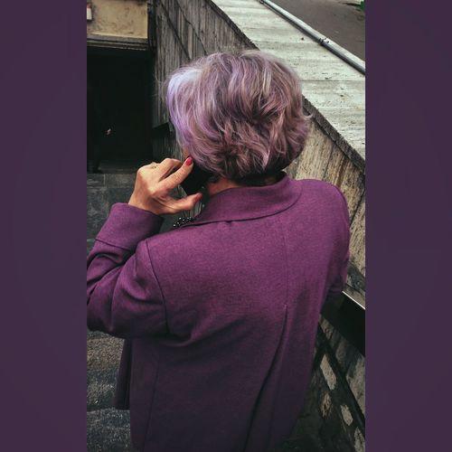La vie en violet Photography Violet Streetphotography