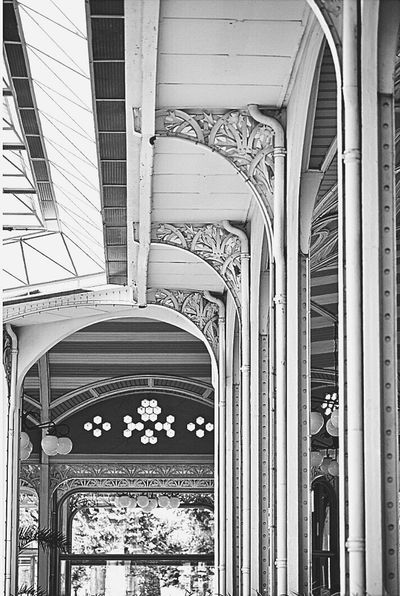 Blackandwhite Architecture Arch Built Structure Outdoors Blackandwhite Photography Thermal City