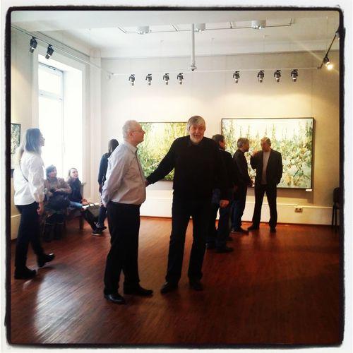 открытие живописной выставки ВАЛЕРИЯ УШКОВА «ВЕСЕННИЙ ПРИЗЫВ»