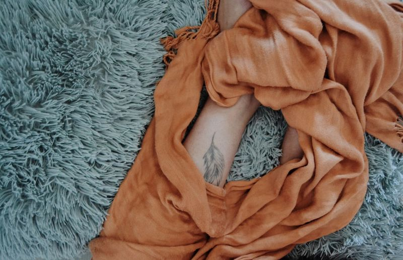 Body Part Legs Leather Tatoo Human Body Part EyeEm Selects Textile Close-up Cloth Textured  Clothesline Woolen