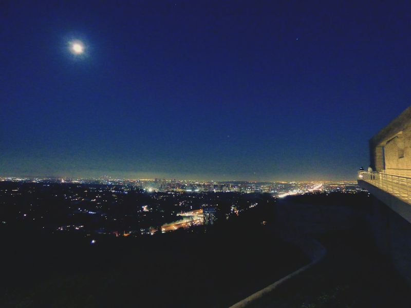 My View 405 Freeway Los Angeles, California Night Photography Getty Center Taking Photos Panasonic Lumix