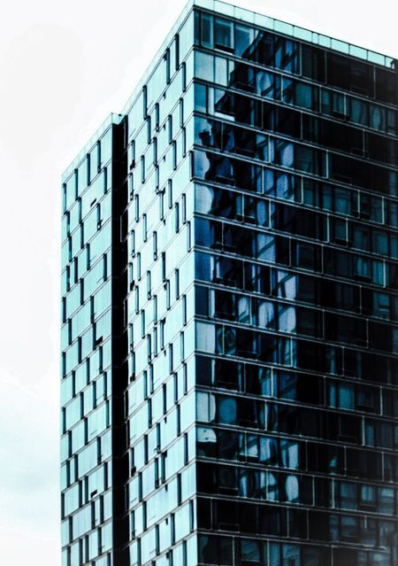 Architecture The Architect - 2016 EyeEm Awards Los Angeles, California High Angle View Highrises Reflections And Shadows