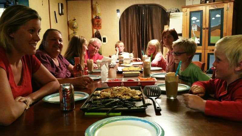 Mealtime Family Three Generations This Is What Weekends Are About My Pov The Culture Of The Holidays