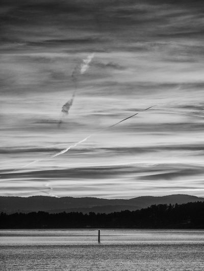 Sunset above the Oslo fjord as seen from Nordre Spro, Nesodden, Norway Beauty In Nature Black & White Blackandwhite Buoy On The Water Cloud - Sky Fjordsofnorway Nature No People Norway Norway ✌ Norway🇳🇴 Oslo Fjord Outdoors Scandinavia Scenics Sky Sky And Clouds Sunset Sunset Colors Sunset Colours Sunset Sky Sunset Sky And Clouds Sunset Sky Colorful Sunset Skyline