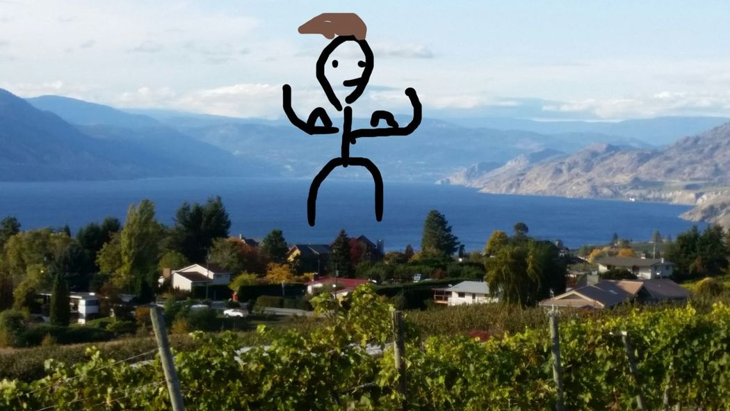 Monster In The Lake South Okanagan Bc Easy Living Wine Country