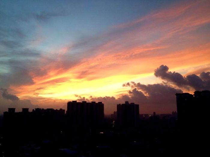 Sunrise~Le lever du soleil (日出) Guangzhou China Sunrise Sunrise_sunsets_aroundworld Sky