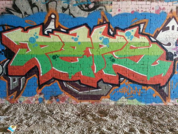Peps Burner Streetart Graffiti
