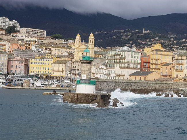 vieux port de Bastia en haute corse Port Corsica Corse Mer Croisiere Bateau île De Beauté EyeEm Selects Architecture Cityscape Outdoors No People City Building Exterior Day Sky
