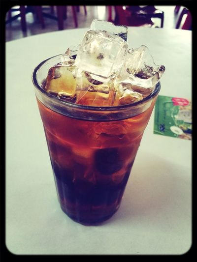 Extra ice Herbal Tea..................