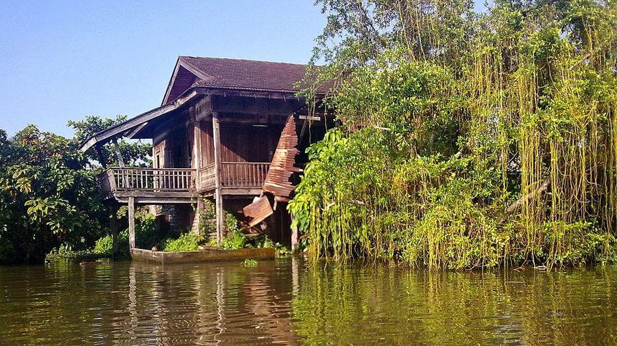 Boat Trip around Ko Kret in Bangkok Bangkok Boattrip Canal Canal Walks Idyllic Klong Ko Kret Thailand Water