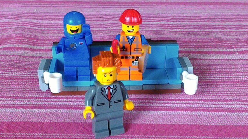 EyeEmNewHere LEGO Lego Minifigures Legophotography Legominifigs Close-up Toyphotographer Legofan Toys Toy Lego Art LegoLover Emmet TheLegoMovie LordBusiness Benie Colored Background Multi Colored Lego Photography No People Yellow Toyphotography Indoors