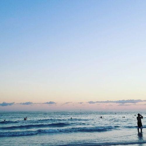 Florida Beach Sunset Sea Outdoors Blue Nature People Sarasota Florida First Eyeem Photo
