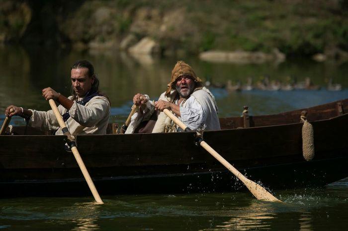 Gueux Manant Medievale Moyen âge Middle Ages Autour De Chez Moi Bateau Ship Rameur Barque