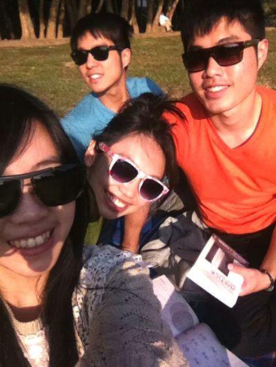 艷陽天Taipei 雙溪河濱公園 野餐