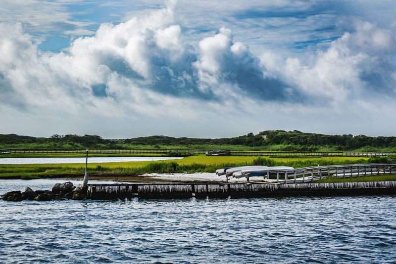 Water Cloud - Sky Sky Scenics - Nature Tranquility Beauty In Nature Tranquil Scene Nature No People Day Environment Waterfront Landscape Land Plant Non-urban Scene River Idyllic Outdoors