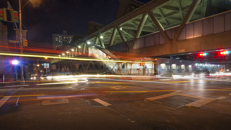 George Washington Bus Terminal Cityscapes Washington Heights Streetphoto_color Long Exposure Night Photography Streetscapes Streetscape New York New York City Street Photography Cityscape Streetphoto