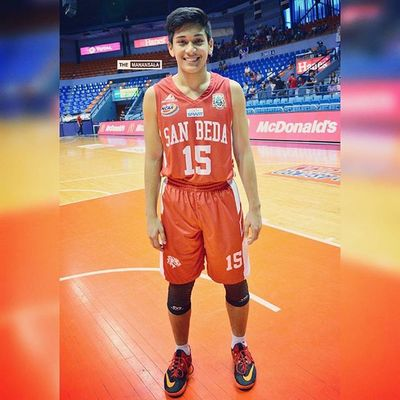 Player of the Game: Six-time defending champion San Beda Red Cubs' forward Alfaro (@PeterAlfaro15) with 16 pts, 3 rebs, an assist, and a block (in 17 minutes of playing time) during SBCvsJRU matchup on 6th of August capping the Red Cubs unblemished seventh straight win in the season 🏀 . . . NCAA Ncaa91 Ncaaseason91 sanbeda redcubs sbc juniors hoop ballers ballislife themanansala