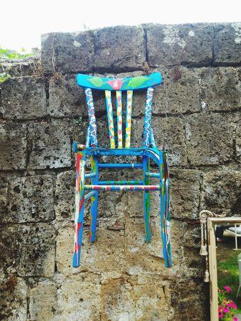 Chairs Chairs Against Wall Chair Art