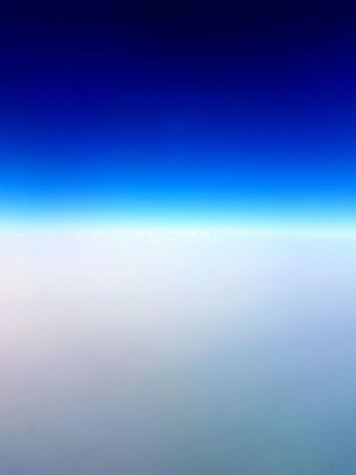 Space Backgrounds Airplane Blue Water Textured  Clear Sky Pattern Sky