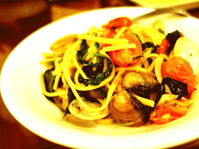 蒜香海鮮義大利麵 Seafood Noodle Spaghetti <3 Pasta