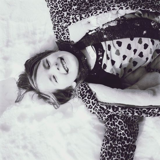 Snow Snowy White Black And White Blackandwhite Photography Young Childhood Snow ❄ Snow Child