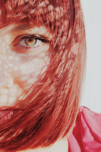 Young Women Portrait Human Eye Women Beautiful Woman Red Human Face Females Headshot Redhead Iris - Eye Eyeball Dyed Hair Dyed Red Hair Capture Tomorrow