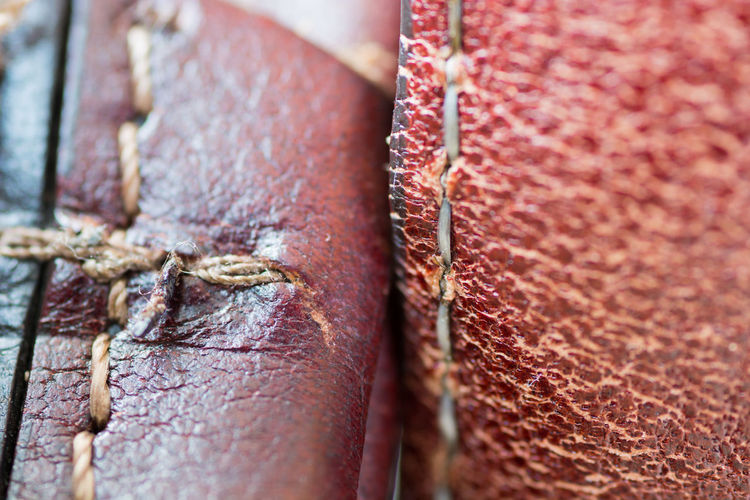 Animal Backgrounds Brown Close-up Connection Day Focus On Foreground Full Frame Leather Metal Nature No People Old Outdoors Pattern Red Rusty Security Selective Focus Textured  Wood - Material