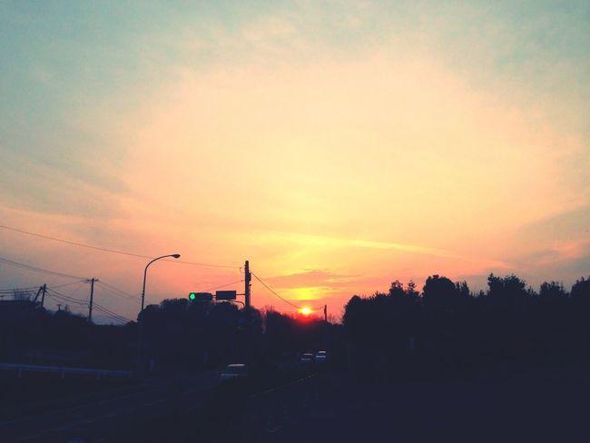 Sunset Photo 今日の西側