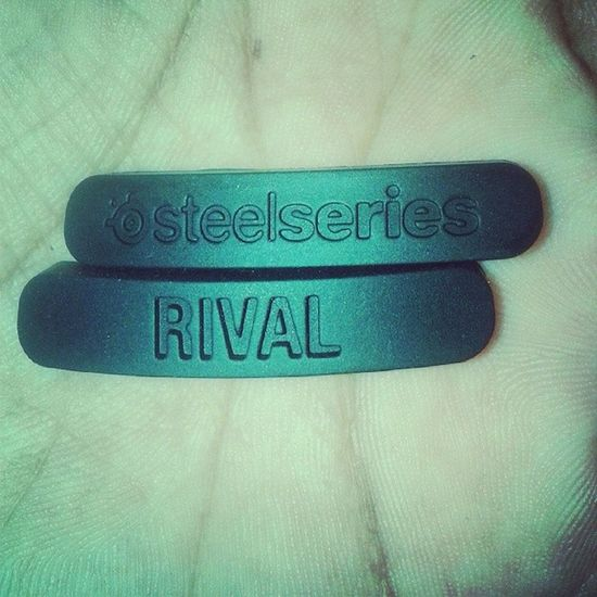 Nametag SteelseriesRival