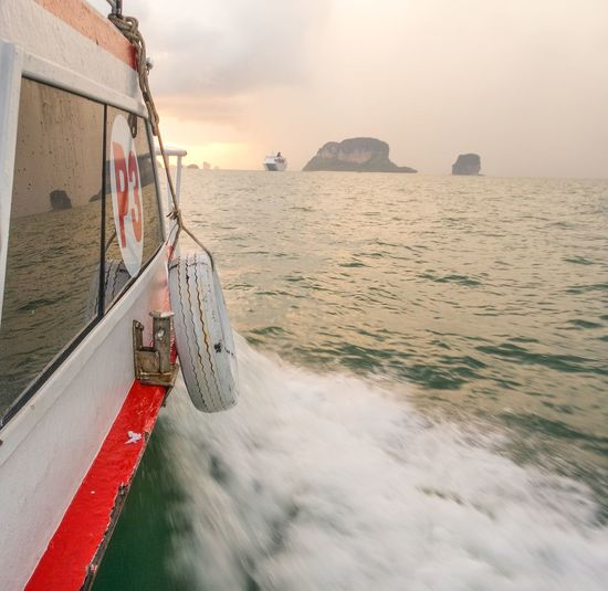 While on the way bck frm Krabi ⇝ ?~ 091214 🌊🕡🌅