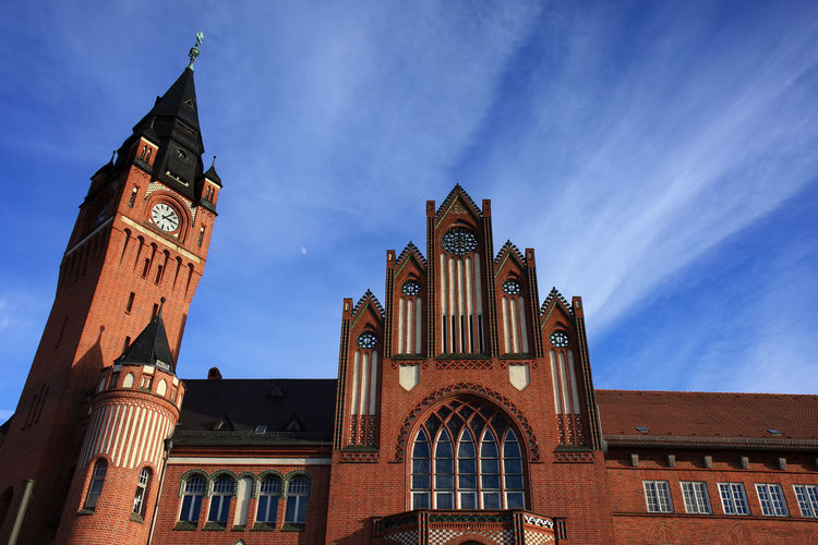Berlin Rathaus Köpenick Berlin Rathaus Architecture Architektur Building Exterior Built Structure Day Fassade History Köpenick Low Angle View No People Outdoors Place Of Worship Rathaus Köpenick Religion Sky Travel Destinations