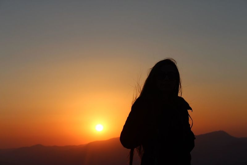Sunset Suliet Sun Nemrut Silhouette Sky Nature National Park First Eyeem Photo