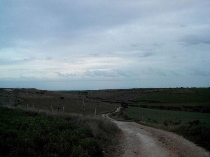 2014 Abend Alleine Camino CaminodeSantiago Clouds Dark Dunkel El Camino De Santiago Empty Evening Jakobsweg Leer Pilgern Pilgrimage Road Straße Way Way Of Saint James Weg Wolken