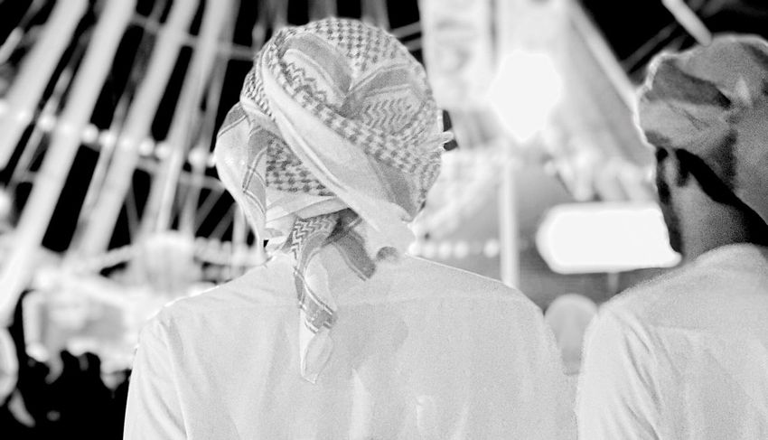 Dubai UAE Headwear Close-up Outdoors People Day Adult Adults Only Arabian Gulf National Icon National Dress Global Village Dubai Real People Leisure Activity Nightphotography Adapted To The City EyeEmNewHere Uniqueness This Is Masculinity
