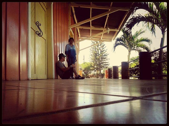 traveling.. !! geo and me :-) Leon - Nicaragua!! estacion de Tren en Nagarote