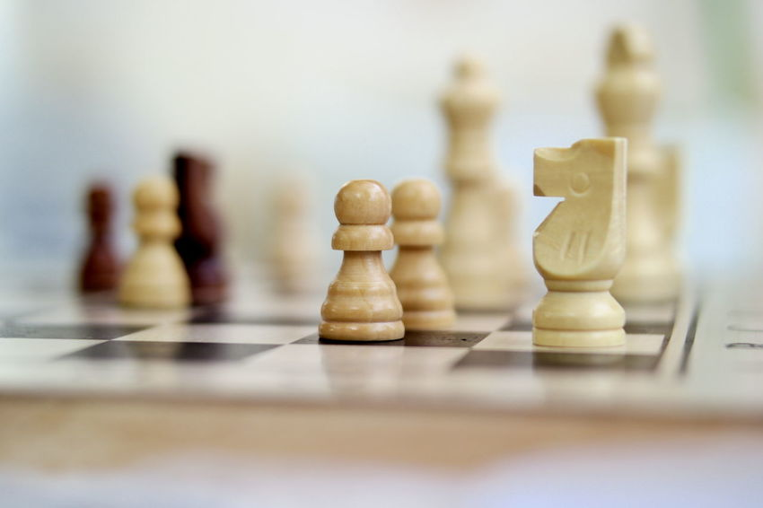 Chess... Chess Chess Piece Strategy Chess Board Leisure Games Pawn - Chess Piece Knight - Chess Piece Board Game Selective Focus King - Chess Piece Indoors  Queen - Chess Piece No People Focus On Foreground Close-up Day Intelligence