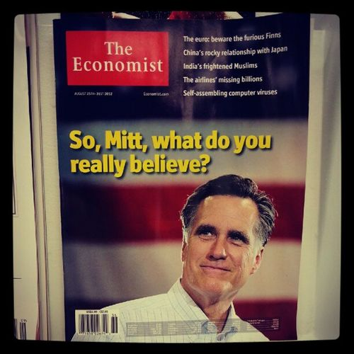 """I believe that the rich should pay less taxes"".. That's the only thing he really believes in. Mitt Romney Elections Politics Republican LGBT 2012 Mormon"