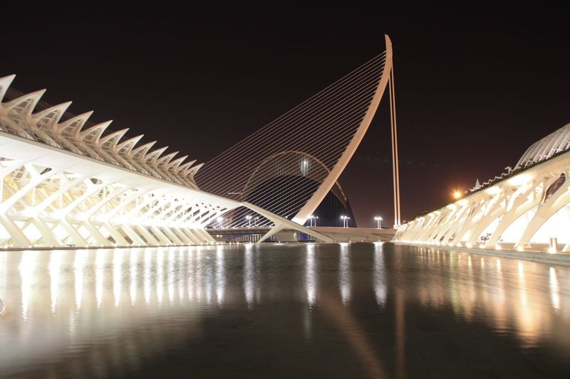 Valencia, Spain Calatrava Calatravaarchitecture Architecture City Travel Destinations Travel Built Structure Illuminated Modern Building Exterior No People Night Architecture Modern Futuristic Taking Photos Hanging Out Urban Geometry Check This Out Enjoying Life Nightphotography Night Lights Architecture_collection Neighborhood Map