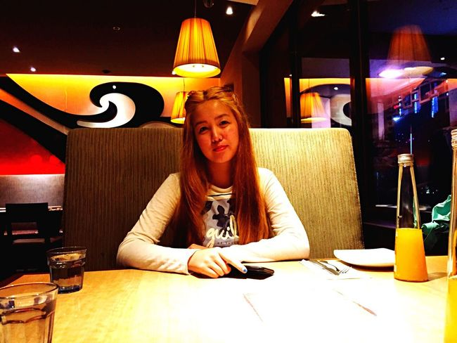 At Pizza Hut