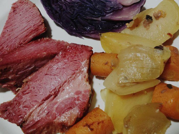 Cooking Cornedbeefandcabbage Slow Cooking