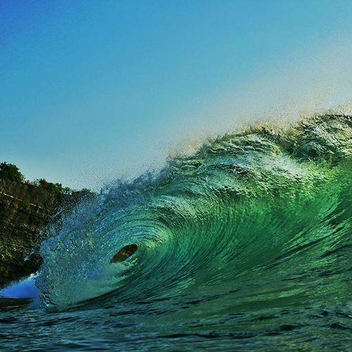 Water is creating beauty. 🌊🌏❤🏄🎬🎥 @aquatech_imagingsolutions @natgeotravel @natgeo Wave Ocean Cliff Surf art sunset nature mother love moment barrel surfing crystalwater uluwatu balanganbeach happiness fun friends amazing instagood warrenjc instadaily vsco instawave clarklittle