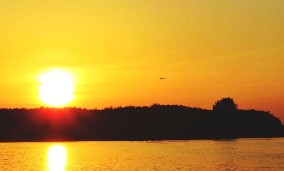 Good night. ✨🌙✨ EyeEm Tadaa Community Denmark Sunset.